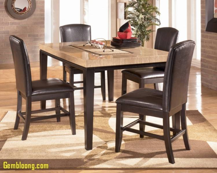 Ashley Furniture Lacey Rectangular Dining Table in Medium Brown