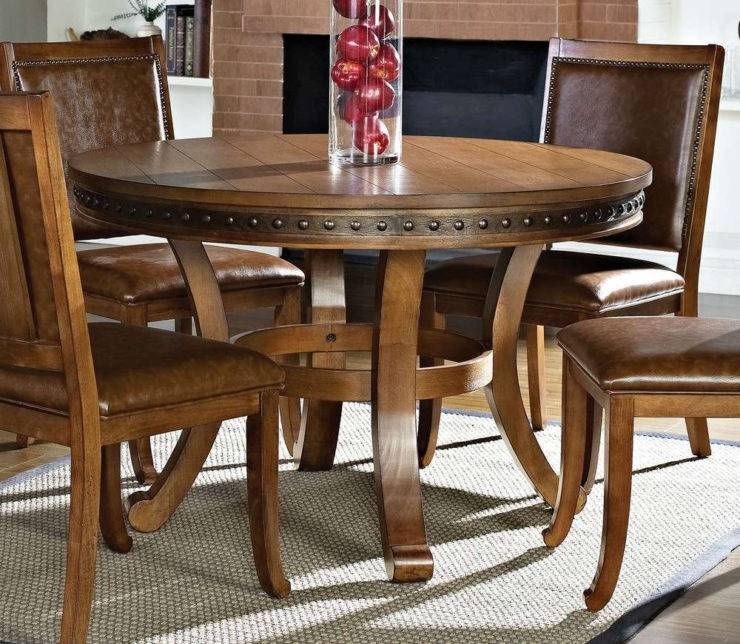 Dining Tables, Round Rustic Wood Dining Table Rustic Dining Table Set  Round Dining Room Tables