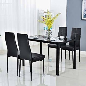 Color: Oval Dining Room Wood Table  Chair