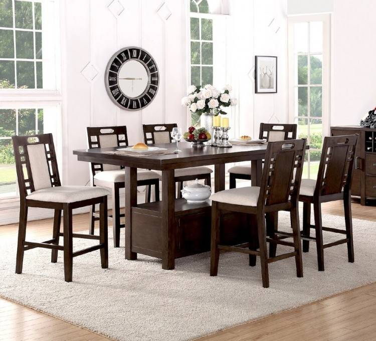elegant wooden cream dining room set ideas: excellent cream dining  room set
