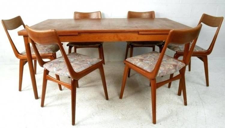 danish teak dining table vintage retro and antique furniture indoor