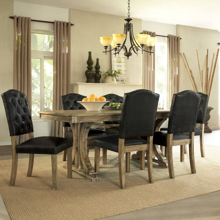 Bobs Discount Furniture Bobs Furniture Extendable Dining Set second  hand