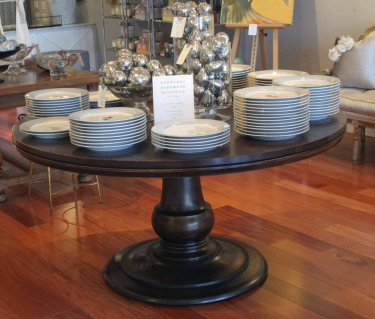 Pedestal Dining Table Sets 7 Piece Pedestal Dining Table Set With  Upholstered Chairs 48 Inch Round Pedestal Dining Table Set Double Pedestal  Marble Top