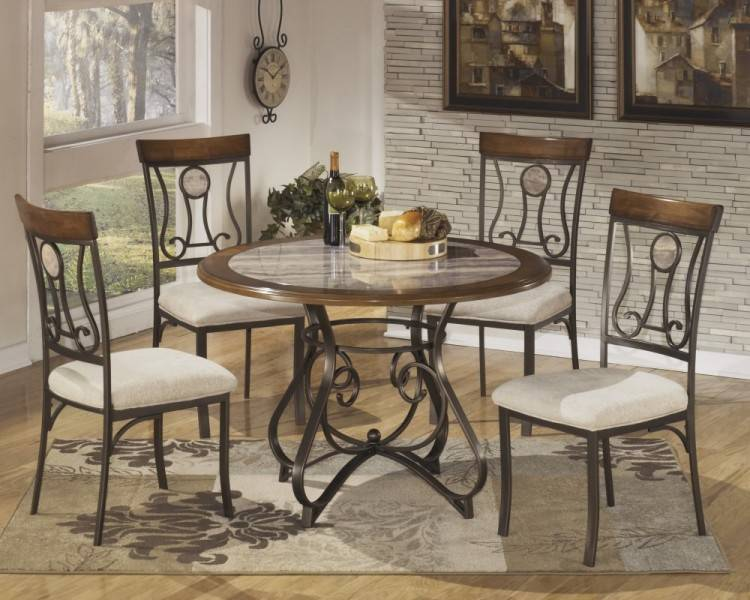 5 Pcs Dining Table Set Kitchen Room Table  and 4 Chairs 0