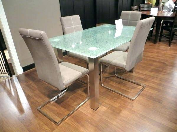 crackle glass dining table cracked glass dining table dining tables cracked  glass dining table set great