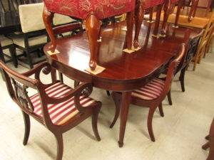six mahogany dining room chairs heirloom furniture chippendale
