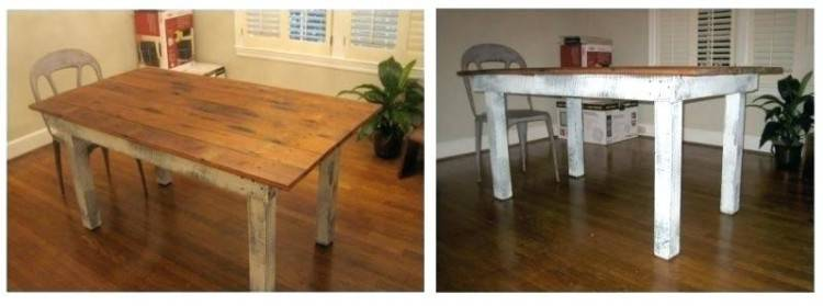 Repurpose Round Oak Dining Table Tables