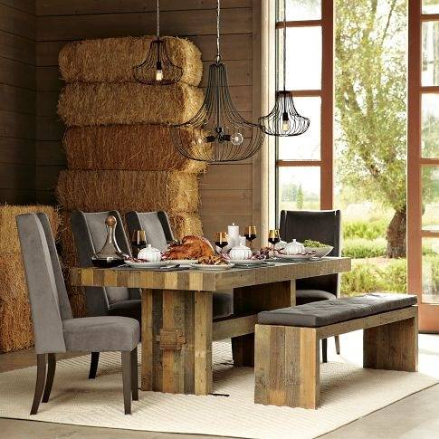emmerson dining table for the inch rectangular reclaimed wood dining table  emmerson dining table plans