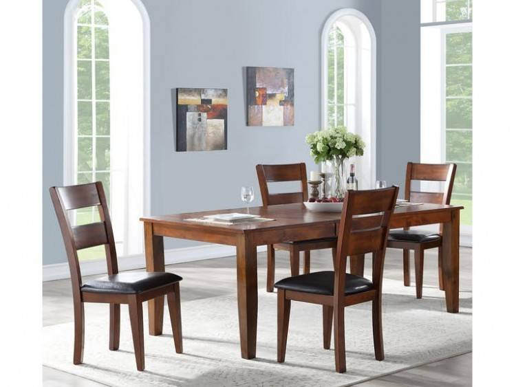 Color: Mecor 5 Piece Dining  Table
