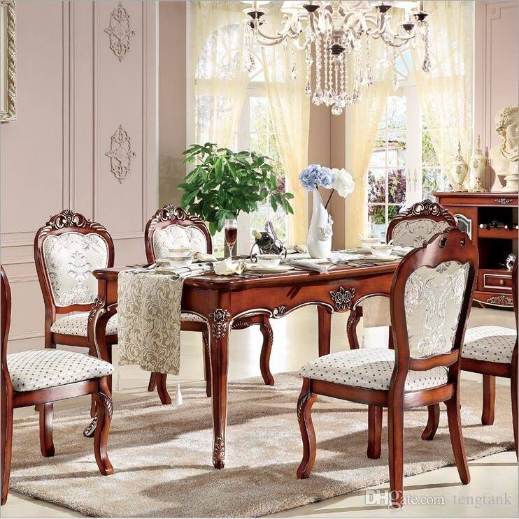 Color: 6 pc antique walnut  finish wood counter height dining table