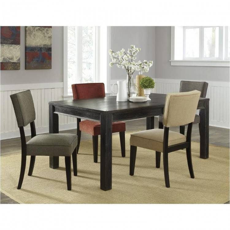 ashley dining room tables signature design by 5 piece rectangular dining  table set ashley furniture dining