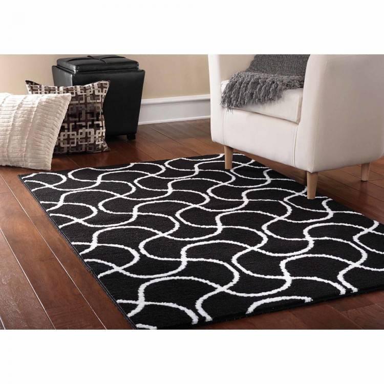 mid century modern area rug