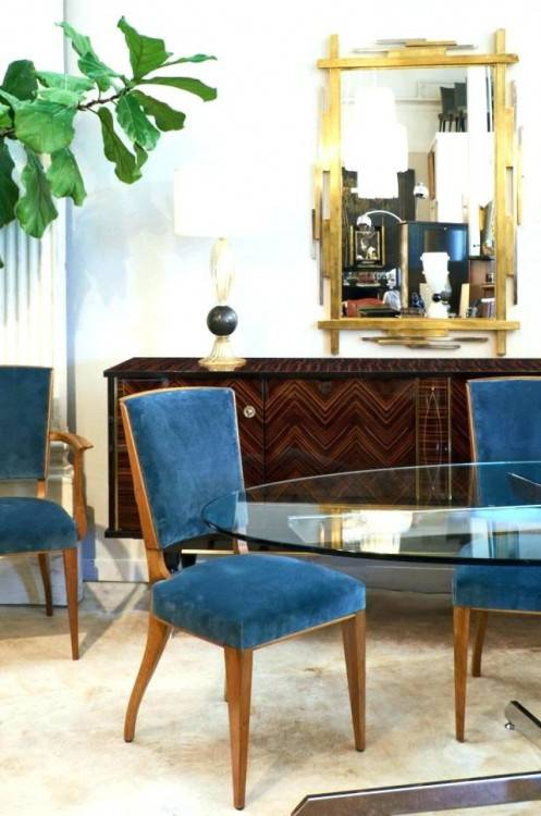 Art Deco Dining Room Furniture Art Dining Room Set Art Dining Room Sets  Large Scale Art Dining Suite In Ebony Art Round Dining Room Table Art Deco  Style