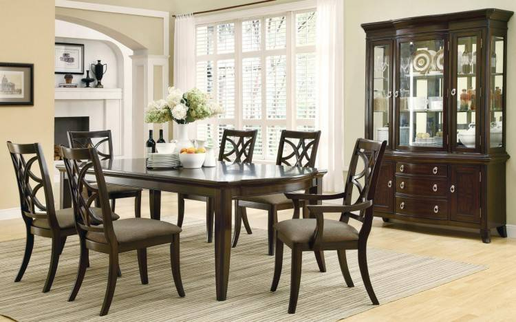 Weber Dining Room Set w/ Cream Chairs