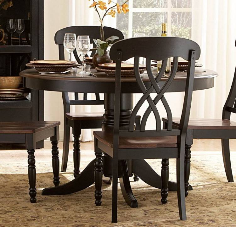 48 round dining table with leaf cozy ideas pedestal dining table with leaf  black round oval