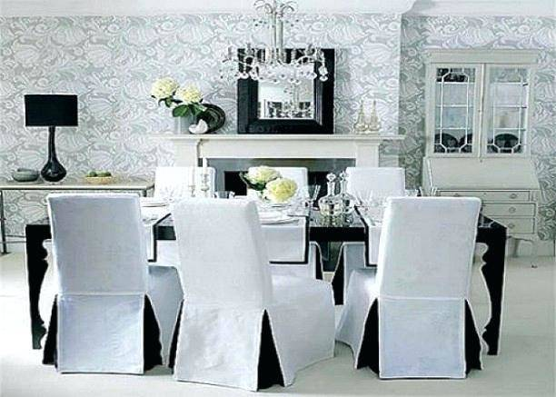 Chair : Best Elegant Parson Chair Slipcovers Photos Restaurantcom Image For  Cover Style And White Popular Sxs Parsons Furniture Striped Dining Chairs