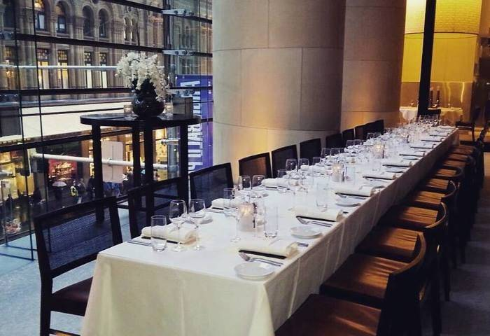 Celebrate the 2017 festive season and host your  Christmas lunch or dinner in one of Melbourne's best private dining rooms