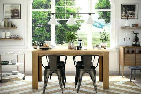 dining room unique fabric covered chairs kalim solid oak grey upolstery  cool metal ring studs chrome